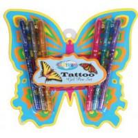 Meer informatie over Set van 6 pennen voor tekenen tatoeage